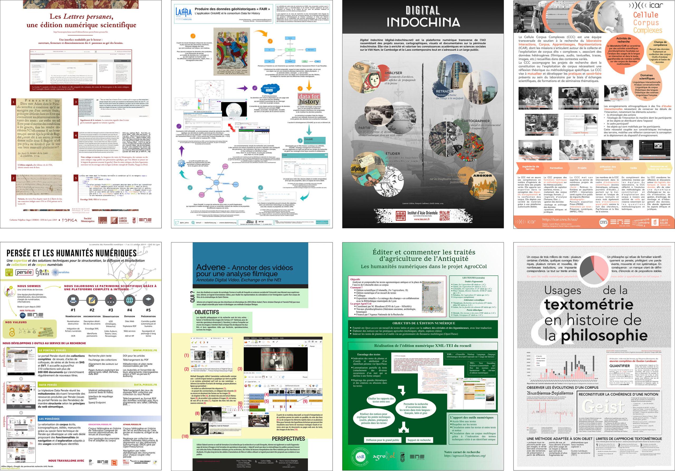 posters présentés